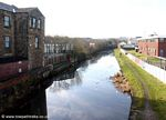 Leeds Liverpool canal at Church Lancashire