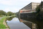 Turnstill Mill, Brierfield, by the Leeds Liverpool Canal