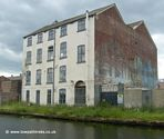 Warehouses by the canal in Leeds