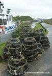 Lobster Pots by The Sea Lock Bude