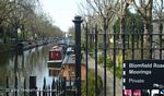 Moorings on the Regents Canal
